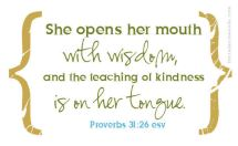Random Thoughts and Proverbs