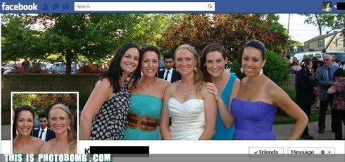 wedding photobomb 3