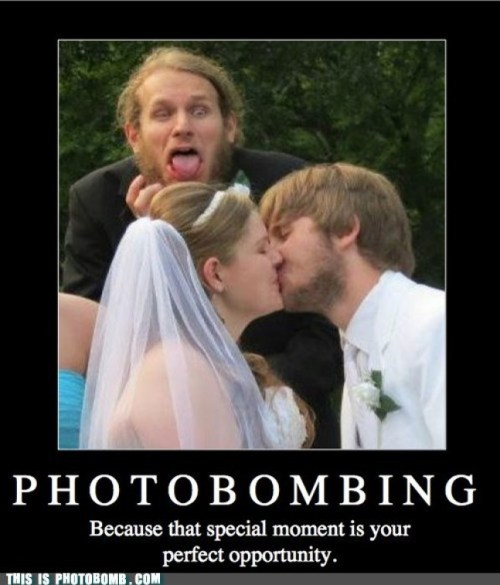 wedding photobomb 4