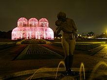 Botanico_Curitiba_Outubro_Rosa Global Illumination